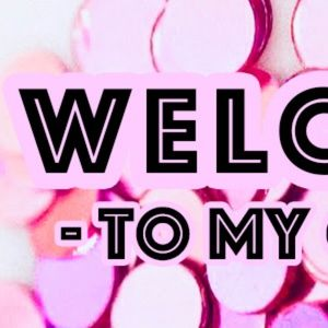 💕 Welcome to my closet!